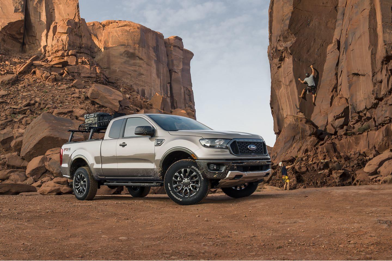 2019 Ranger in the desert