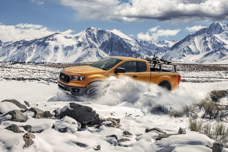 2019 Ranger taking on the snow