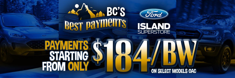 BC's Best Payments June Promo