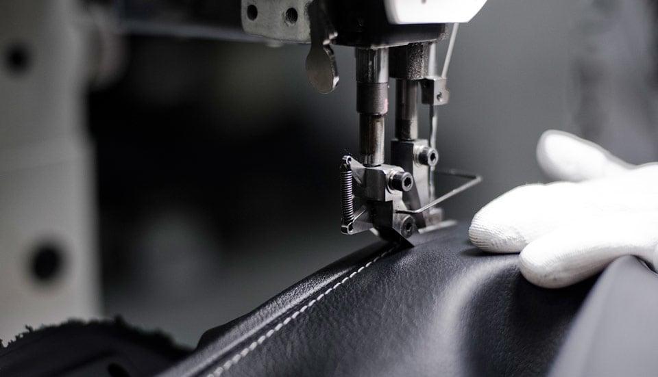 Lexus Hand Stitching