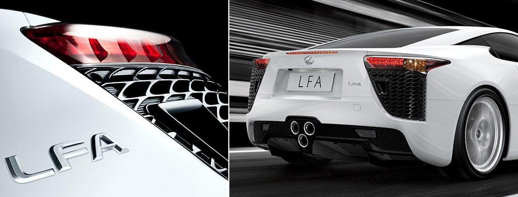 LFA Rear Combination Lamp