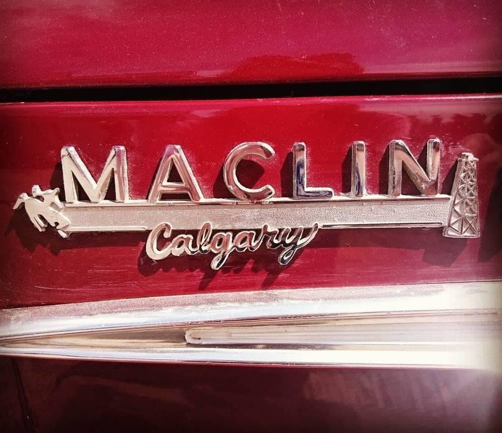 1960s Maclin Motors badging