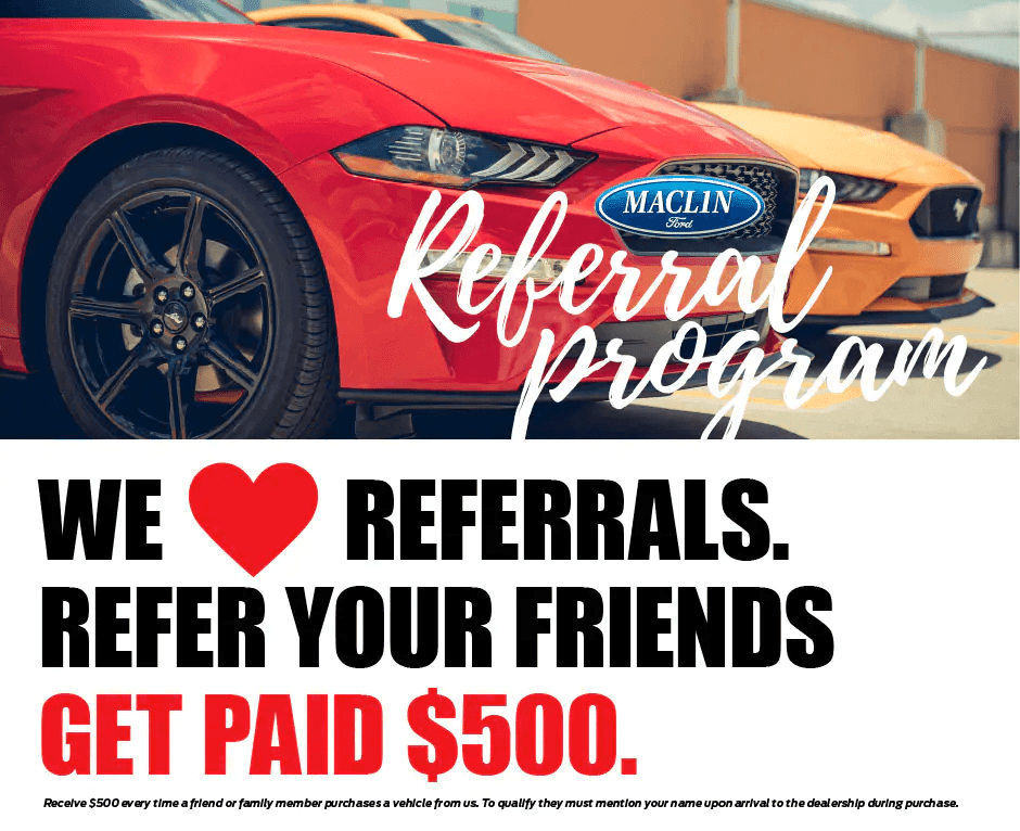 we love your referrals