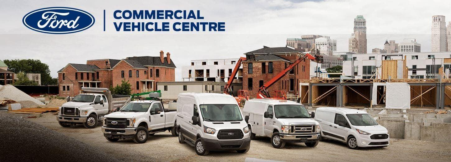 Commercial Vehicle Centre vehicle selection
