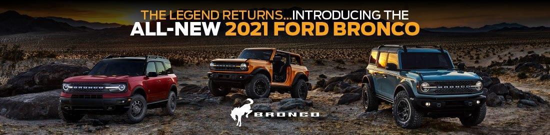 The legend returns 2021 Ford Bronco