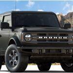 Ford Bronco Big Bend trim