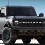 Ford Bronco Black Diamond trim