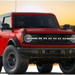 Ford Bronco Wildtrak trim
