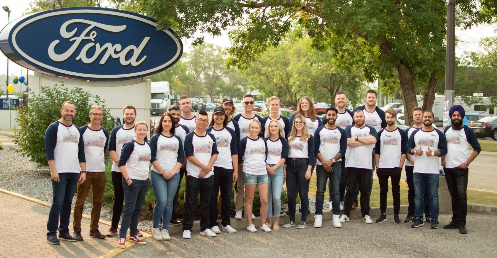 Maclin Ford team photo