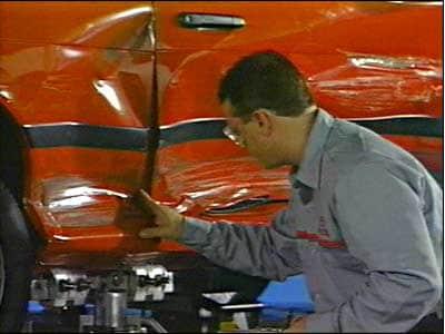 Toyota collision repair
