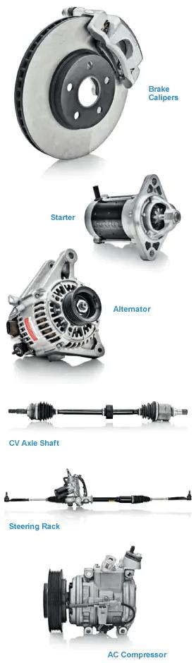Remanufatured Parts Example