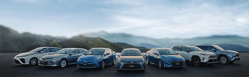 Toyota Hybrid Line-Up
