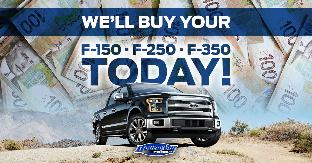 We'll buy your F-150